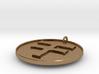 Navajo Water Sign Medallion 3d printed