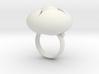 Ellipse Flower Ring # 2 @ 30 mm 3d printed