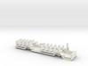 Chassis for Volvo B10m In H0 scale 3d printed