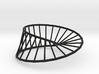 Moebius Line | Napkin Ring 3d printed
