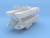 French Mistral Assault Ship 1:6000 x4 3d printed