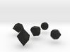 Repulsive Force Polyhedra 3d printed