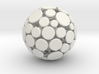 Patched Ball 3d printed