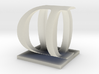 Two way letter / initial O&D 3d printed