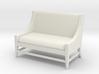 1:24 Slipper Sofa 3d printed