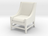 1:24 Slipper Chair 3d printed
