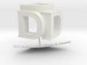 DDD 3D Logo 3d printed