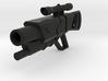 Minifig gun 02 3d printed