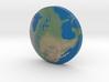 Omni Globe Usa 3d printed