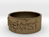 Coexist Ring Size 7 3d printed