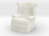 1:24 Tufted Chair 3d printed