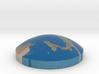 Omni globe Italy 3d printed