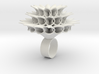 Big Bloom Ring Size 8 3d printed