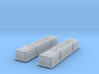 1/16 SBC Half Finned Valve Covers 3d printed