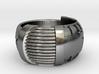 Robot Ring (Gold) 3d printed