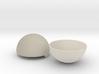 Pokeball- No hinge 3d printed