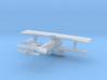 Nieuport 17 wing & synchronised gun version. 1/144 3d printed