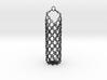 Ring & Link garlic bulb hanger 3d printed