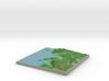 Terrafab generated model Tue Jan 21 2014 22:08:32  3d printed