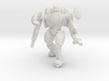 Mech suit with twin weapons (5) 3d printed