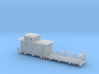 Caboose MOW 50 Ft Flat Car 2 3d printed