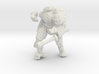 Mech suit with twin weapons (7) 3d printed