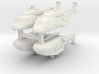 Eurocopter NH90 1:600 x4 (WSF) 3d printed