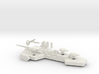 Prague Class Cruiser Mk 2 3d printed