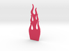 Guitar Truss Rod Cover Flames (narrow) 3d printed
