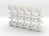 15mm Swivel Chairs x10 3d printed