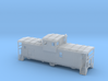 DMIR Widevision Caboose Early - Nscale 3d printed