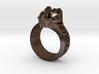 Neuromancer Avatar Ring (US Size 5) 3d printed