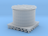 Storage Tank - Zscale 3d printed