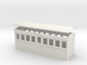 OO9 20 foot Bogie Tramway Carriage 3d printed