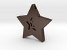 Star Charm (Precious metals)   3d printed