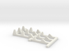 1/144 Type 1 WWII Dragon-Teeth Defense Line 3d printed