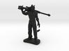 Hobo Cat 3d printed
