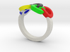Olympic Ring-sz17 3d printed