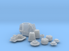 1/16 TDR 11 Inch Rearend Kit 3d printed