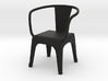 1:24 metal chair 2 3d printed