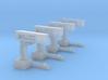 4 bascules SNCB (HO) 3d printed