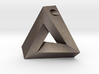 Penrose Triangle - Pendant (3cm | 3mm hole) 3d printed