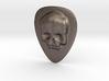 Skull Guitar Pick 3d printed
