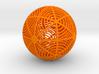 Moiré Sphere 3d printed