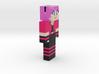6cm | MinecraftChick 3d printed