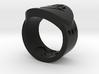 Death FF Ring Sz 6 3d printed