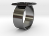 Silver (Ag) Periodic Table Ring 3d printed