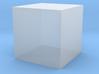 Cube-1cm3 3d printed