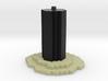 End world pillar wrl 3d printed