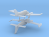Cessna 310 - Set of 2 - Nscale 3d printed